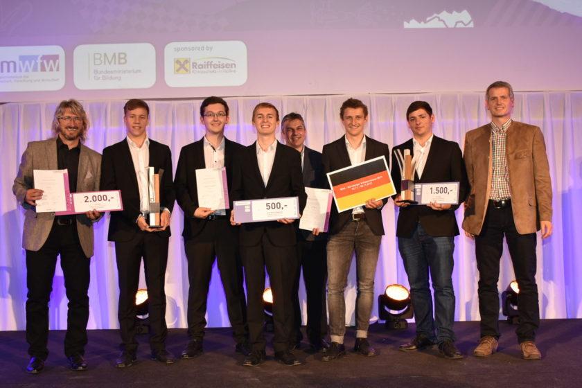 Innovativste Schule Nö 2017 und Jugend Innovativ Sieger 2017