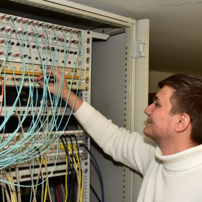 Computernetzwerke gehören zur Basisausbildung jedes IT-Spezialisten
